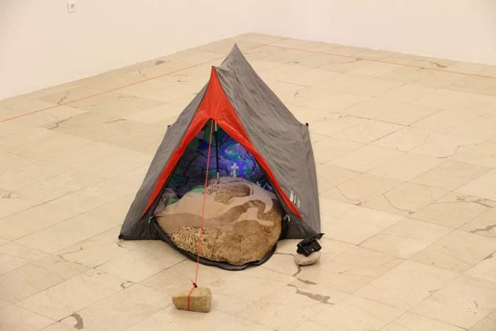 אוהל ככלי מעבר,