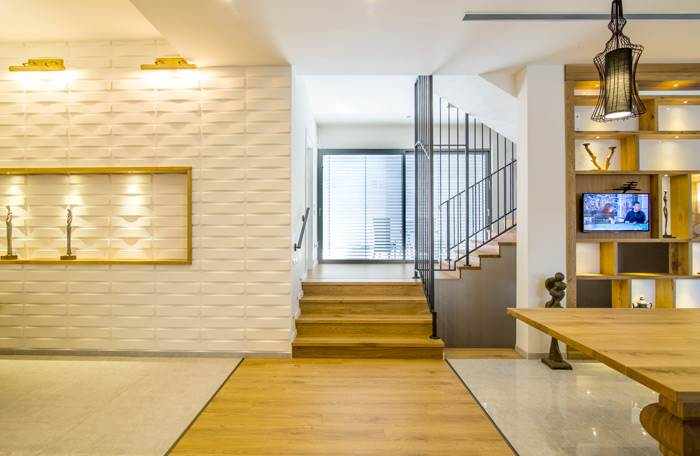 עיצוב קלאסי עם ראייה מודרנית - בית מעוצב בגן יבנה (צילום: עידן גור)