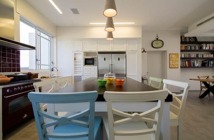 המטבח כביטוי לתכנון ולעיצוב לצד שימוש פונקציונלי- מטבח מתוך בית בסגנון כפרי