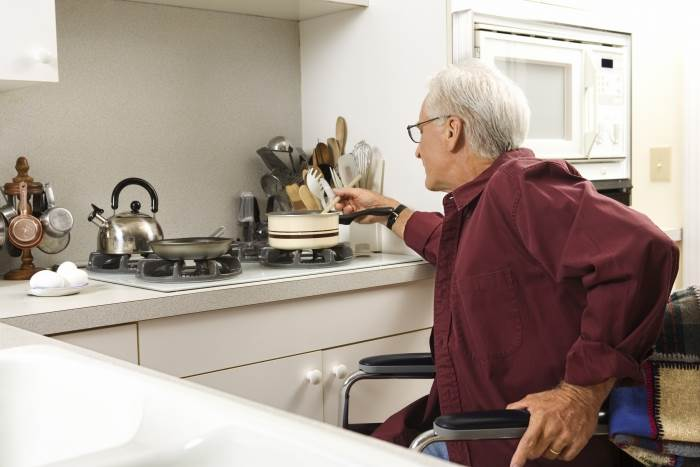 מנגישים את המטבח: נוח אך לא על חשבון האסתטיקה. תמונת אילוסטרציה