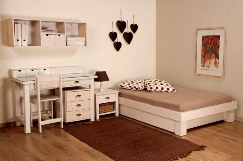 יצירתיות בעיצוב לחדרים קטנים: חדר שינה של גלמר עיצוב. צילום: יח