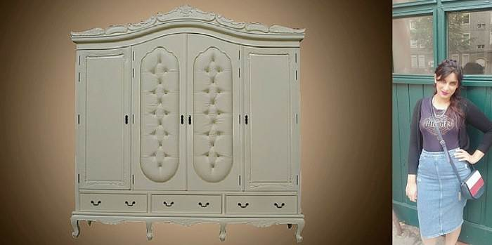 ארון המשלב מקום אחסון רב בעיצוב יוקרתי ומרשים. (יחצ Treemium)