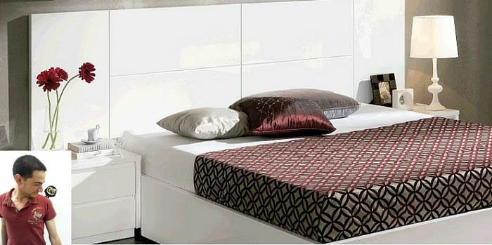 חדר השינה הינו המקום האולטימטיבי להירגע מלחצי היום יום. (צילום: יחצ Dupen)