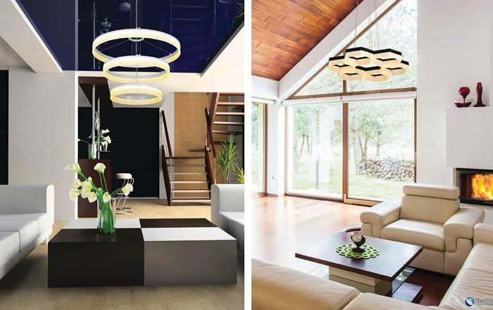 שלל גופי תאורה, מנורות תליה ומנורות צד מעוצבות לסלון | צילום: יח