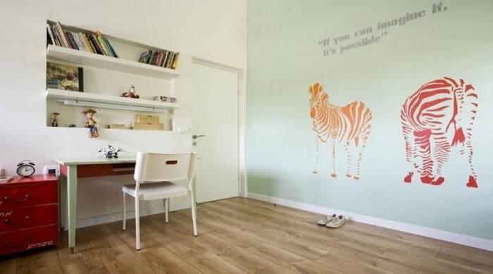 חדר ילדים, עיצוב: אורלי אביטל