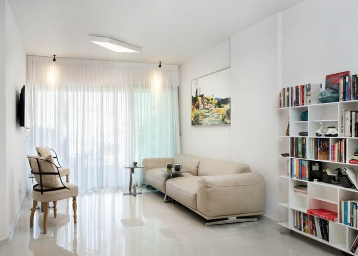 עיצוב הסלון | צילום:עומרי אמסלם