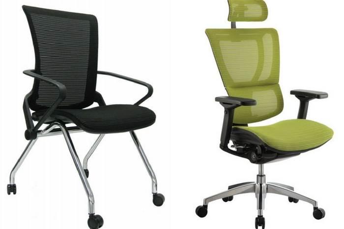 דגשים חשובים לכיסא משרדי: מושב הכיסא- על מושב הכיסא להיות מבד או רשת שאינו גורם להזעה והחלקה ושניתן לכוון את עומק המושב. | קרדיט לתמונה: יח