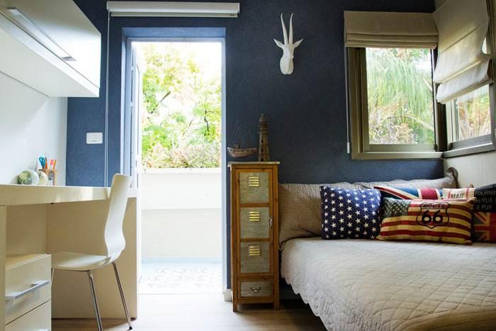 ניתן לשלב יותר מגוון אחד וכן לצבוע אלמנט אחד בחדר אותו אנו רוצים להדגיש כמו קיר אחד או עמוד   טיפים לעיצוב: מירב בן ארי   צילום: איה אפרים