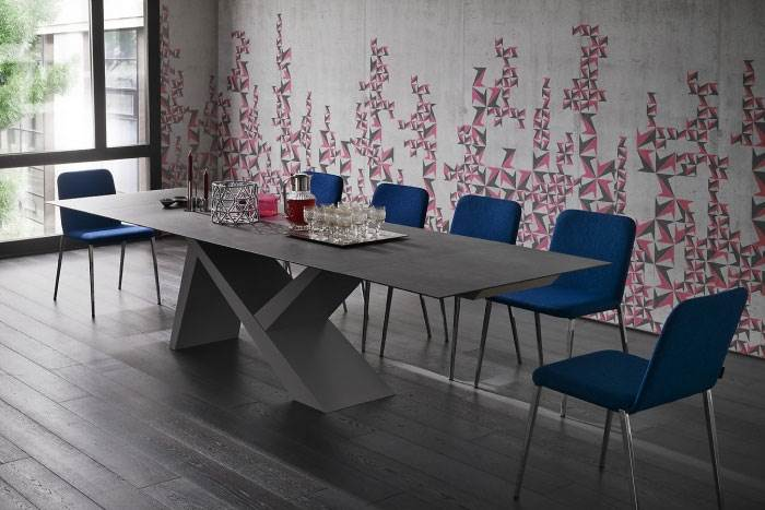 שולחן אוכל מודרני מבית Rossetto   קרדיט לתמונה: יח