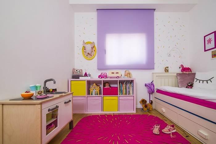 חדר השינה של הילדה