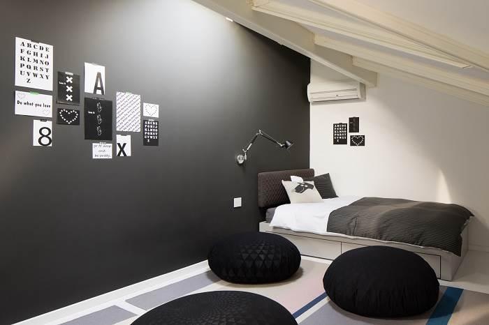חדר השינה של אחת הבנות