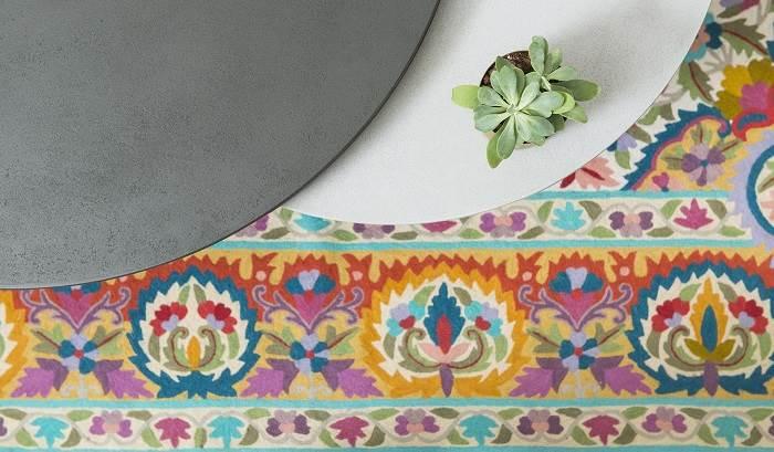 השטיח שהיווה השראה לפלטת הצבעים