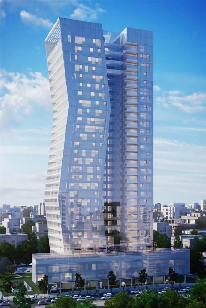 פרויקט ארלוזורוב 17 בתל אביב. באדיבות סטודיו אייקו