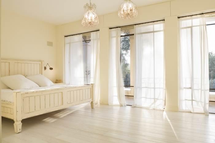 חדר השינה בסוויטת ההורים, צילום:יונתן בלום