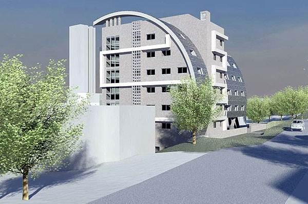 מבנה מגורים אקולוגי בחיפה<br/>(צילום: האתר הרשמי)