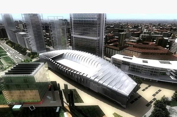 הקומפלקס של גרימשאו עם שאר הפרויקטים (הדמיית מחשב)
