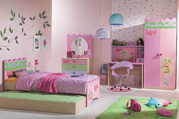 חדר לילדות באווירת בובות הבראץ,