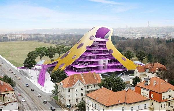 קפליצקי מנהל מאבק עיקש מול עריית פראג על הזכות ליישם את תכנון הספריה הלאומית</br>(צילום: האתר הרשמי)