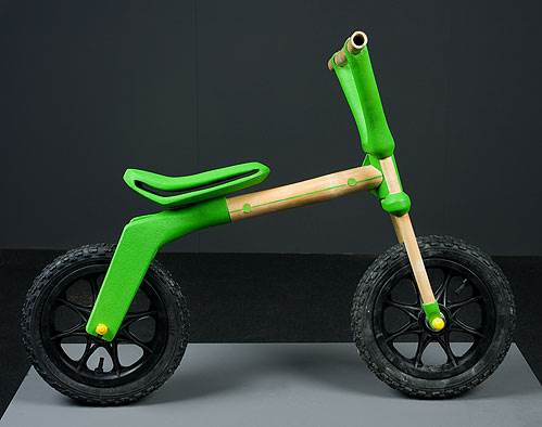 אופני במבוק בעיצובו של עמרי בן זאב (צילום: יח