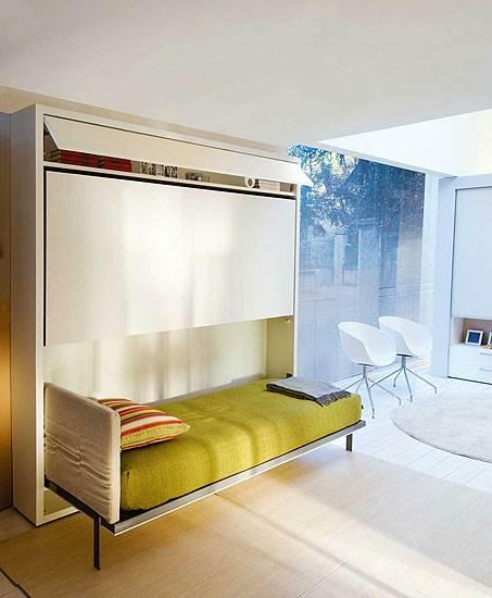 מיטה רגילה ההופכת למיטת קומותיים, דגם Lollipop<br/>(צילום: יח