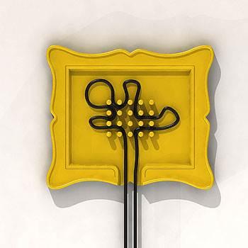 פתרון אחסון דקורטיבי לכבלי החשמל, לליב שלו (צילום: יח