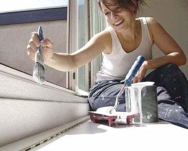 בנוסף לאריזה והובלה,ידאגו חברות חיצוניות גם לצביעת הדירה הישנה(צילום: אילוסטרציה)