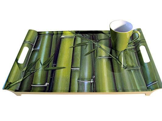 מגש במבוק בצבע ירוק, דומו (צילום:יח