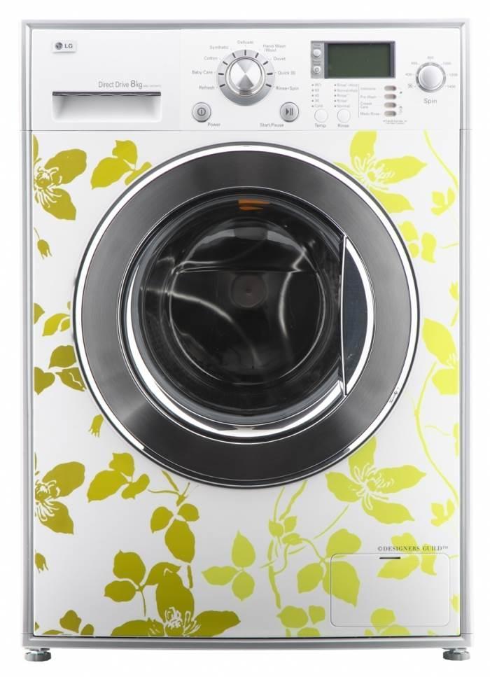 מכונות כביסה פרחוניות במהדורה אביבית מיוחדת מתוצרת LG, (צילום: יח