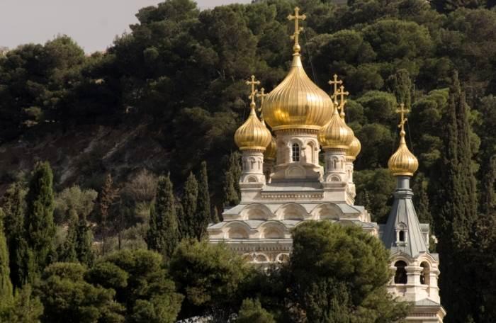בעיר היו ערב רב של שלטונות, כנסית מריה מגדלנה בהר הבית, (צילום: istock)