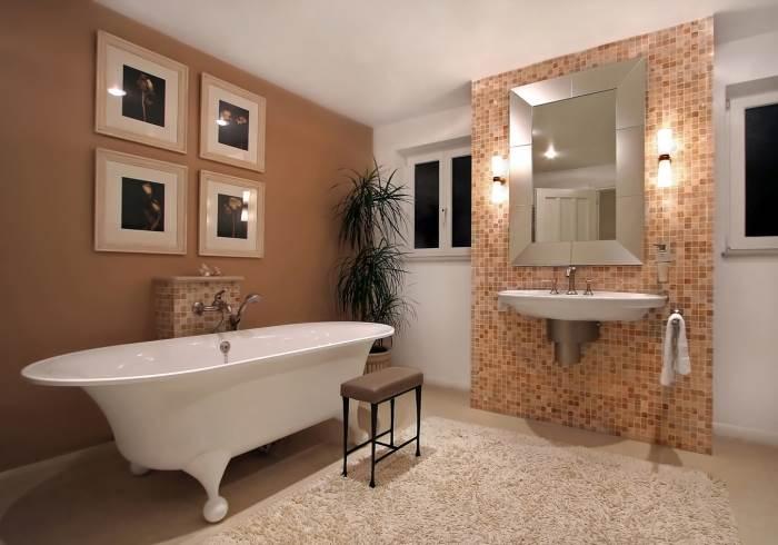 סדרת נירוקריל לצביעת קירות הבית - הינה סדרת הצבעים היחידה המותאמת לצרכי המשתמש הפרטי, חדר רחצה בגווני
