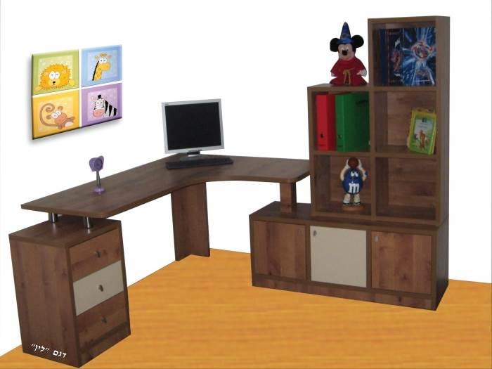 חשוב להתייחס בהתחלה למיקום השולחן בחדר - פינה או קיר, גודל משטח העבודה הרצוי ועוד,