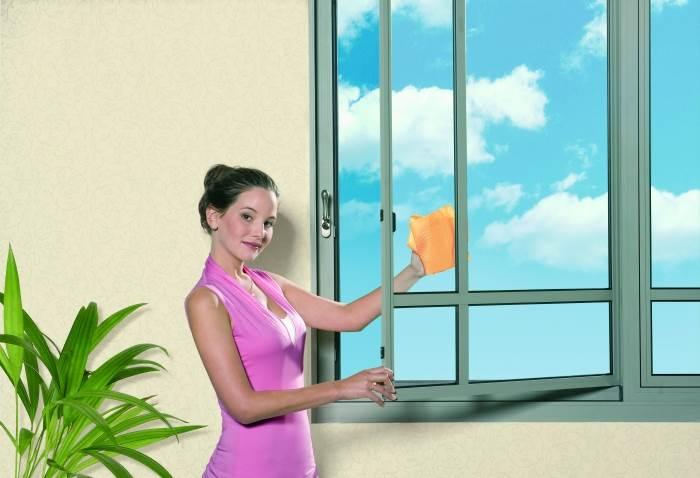 """""""חלון המג´יקליל- הוא חלון הזזה מבית """"קליל"""" שנפתח על ציר ומאפשר קלות בניקיון"""", (צילום: אילוסטרציה)"""