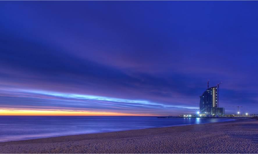 מלון vela בברצלונה בתכנון בופיל, (צילום: יח
