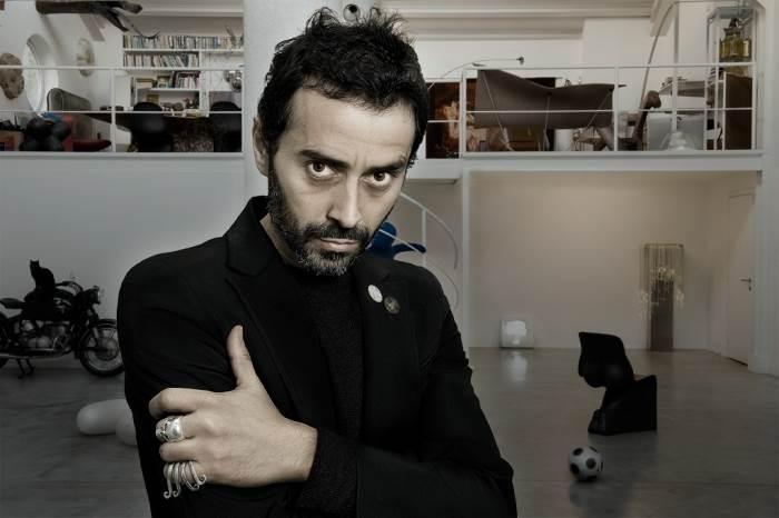 אדם חסר גבולות, בעל אנרגיות בלתי נשלטות, האדריכל והמעצב האיטלקי פאביו נובמברה, (צילום: ריקרדו דה מרטיני)