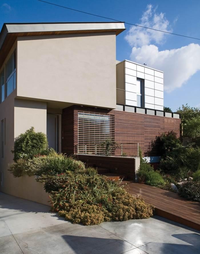 עוד חזית בית מגורים, בתכנון Fine Arc, (צילום: Fine Arc)