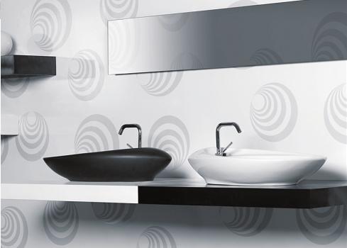 המגורים מהווים פלטפורמה לקירוב בין בני הזוג ועיצוב באמצעות פריטים נכונים בהחלט יכול לסייע, שני כיורים לחדר הרחצה, האחים לוי, (צילום: גוזפין פול)