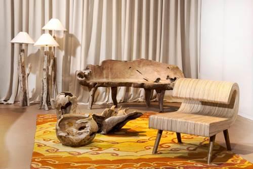 """עיצוב בעבודת יד עם חומרים מן הטבע. גלריית collecte'co בבצרה (צילום יח""""צ)"""