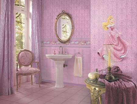"""קלאסיקות הילדים בחדר האמבטיה. קולקציית novo imagine של """"נגב"""" (צילום: יח""""צ)"""