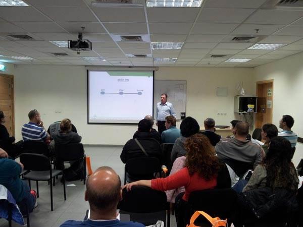 הרצאה בנושא ניהול תקציב פרויקט בנייה אשר הועברה על ידי ישראל פסטרנק, מנכ