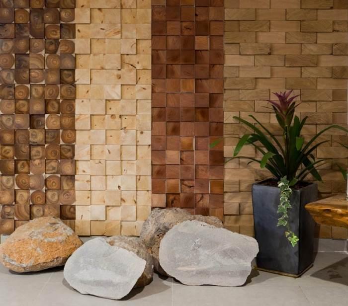 מגוון רחב של דגמי חיפויי קיר עשויים או מדמים עץ של חברת