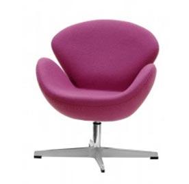כיסא סגול לחדרי ילדים של