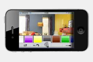 אפליקציית הצבע לאייפון של חברת