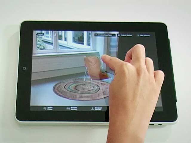 Atelier Pfister: אפליקצייה שמתבססת על צילום החדר שלכם ושיבוץ מוצרי קטלוג (צילום מסך)