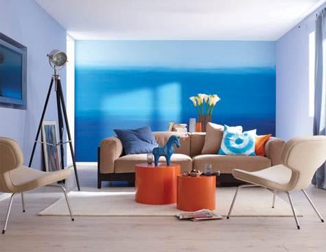עיצובים בצבעים: כחול