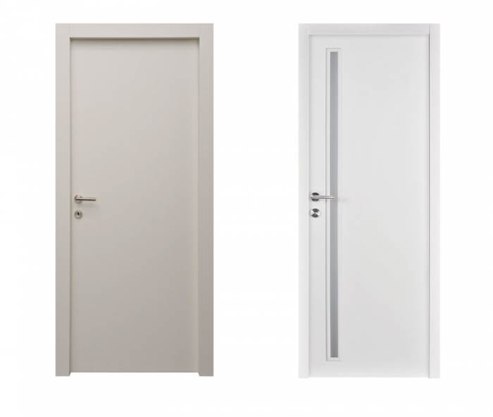 שימוש מוגבר באלמנטים של זכוכית המאירים את החדר ויוצרים תחושת מרחב גדולה יותר בחלל. דלתות הפנים של רב בריח במחירים החל מ-1550 ¤ (צילום: יח