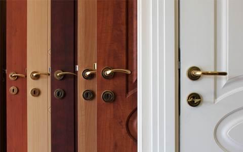 דלתות פנים: כל העיצובים, החומרים והמחירים