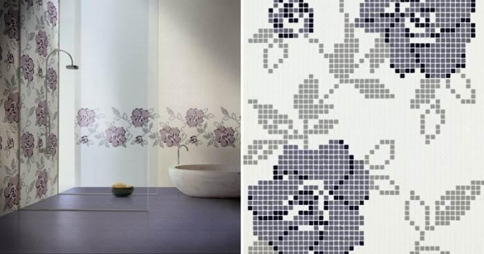קולקציית פסיפסי הזכוכית של CASA MOOD  משלבים צבעוניות רבה, מרקמים נעימים וצורות היוצרות סיפור שלם על הקיר. (צילום:יח