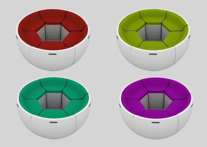 חיים בביצה. שולחן מתקפל של פייפ קאן סריוז (הדמית מחשב)
