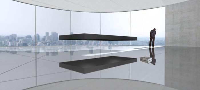 לא לפוחדים מחלומות נפילה. מיטה מרחפת של האדריכל ההולנדי Janjaap Ruijssenaars | מחיר: 1,533,419 דולר (צילום: Universe Architecture)