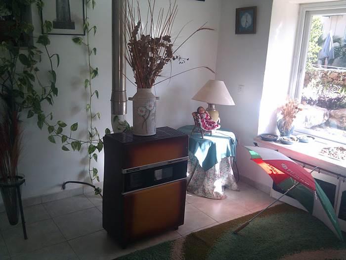 הסלון - לפני השיפוץ